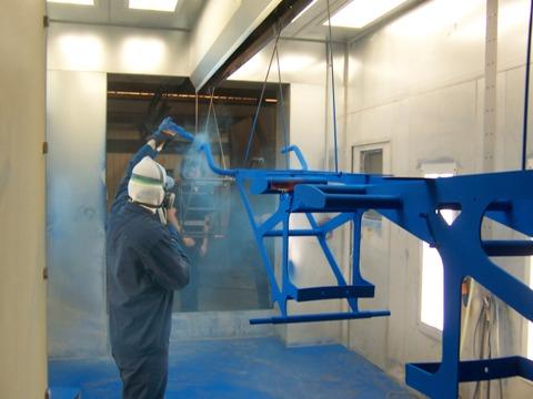 Các loại sơn bột sử dụng trong công nghiệp