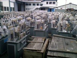 Sản xuất máy biến áp trong ngành điện