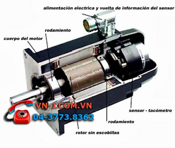 Động cơ SERVO chuyên dụng cho máy cắt CNC